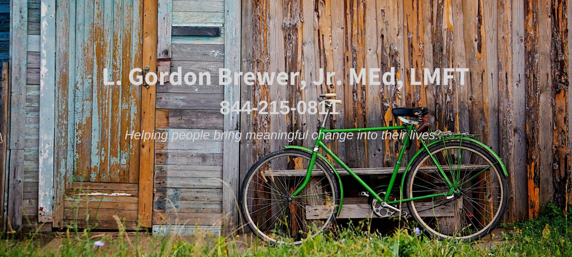 L. Gordon Brewer, Jr., MEd, LMFT